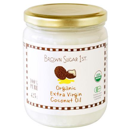 Brown Sugar 1st (ブラウンシュガーファースト)/有機エキストラバージンココナッツオイル